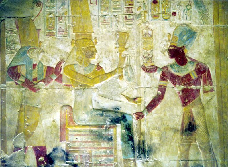 VOYAGE EN EGYPTE FEVRIER 2002 -- ABYDOS