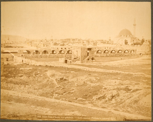 Acre -- Ancient Ptolemais -- Bonfils -- The Blatchford Collection