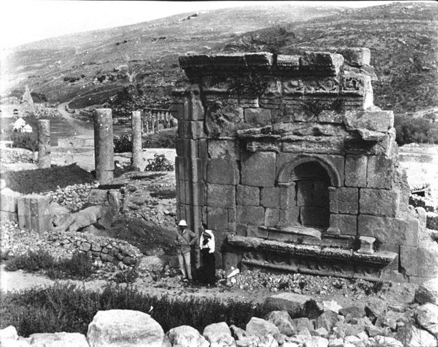 Ancient Amman (Rabbath Ammon) in Jordan