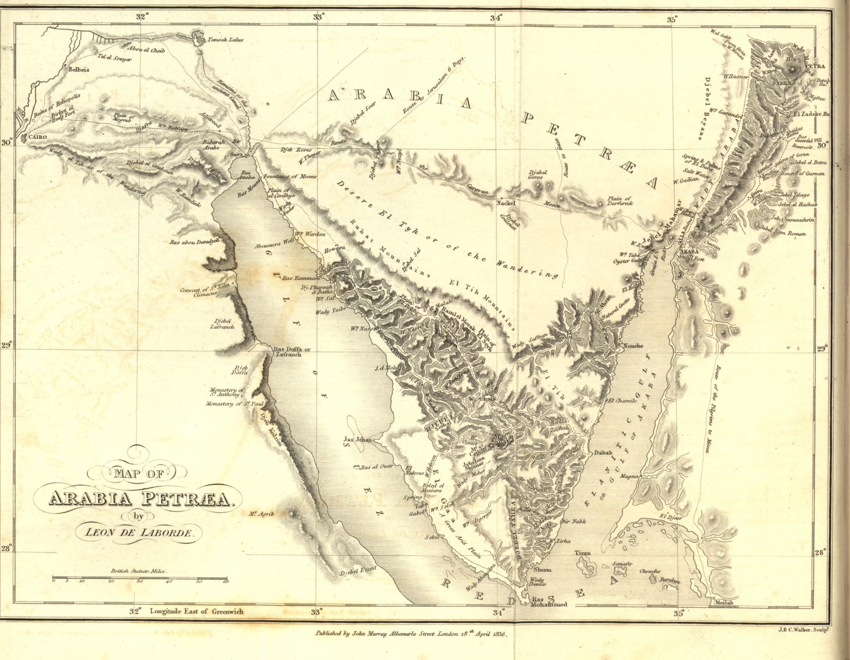 Arabia Petraea (WikiPedia)
