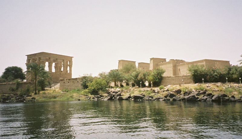 Philae Temple in the South of Aswan