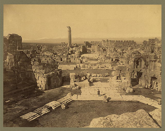 Baalbek: General View -- Late 1800's