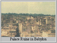 Palace Ruins in Babylon