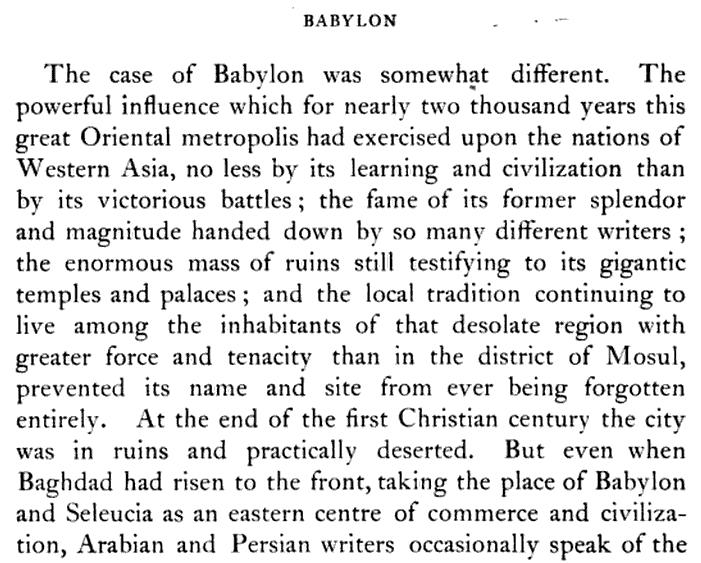 Ancient Babylon (Babel) [Babil] History in Mesopotamia (Iraq)