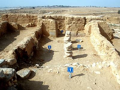 Iron Age (1200-600 BC) Four-Room House