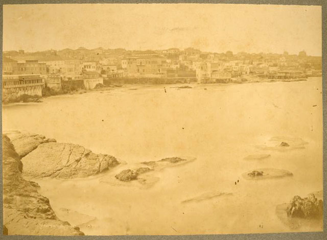 Beyrouth: Sea coast near Zeituni -- The Blatchford Collection at Jafet Library -- American University at Beirut