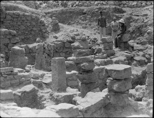 Ancient Biblical Bethel in Israel