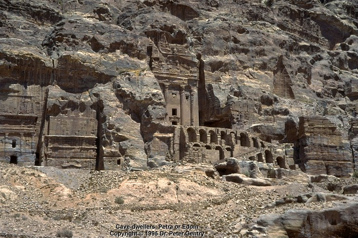 Edomites: Cave-Dwellers at Petra in Ancient Edom -- Atlantic Baptist University