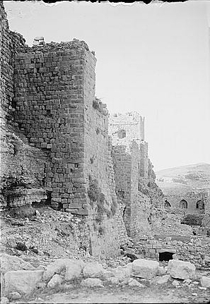 Crusader Fortification -- American Colony (1914)