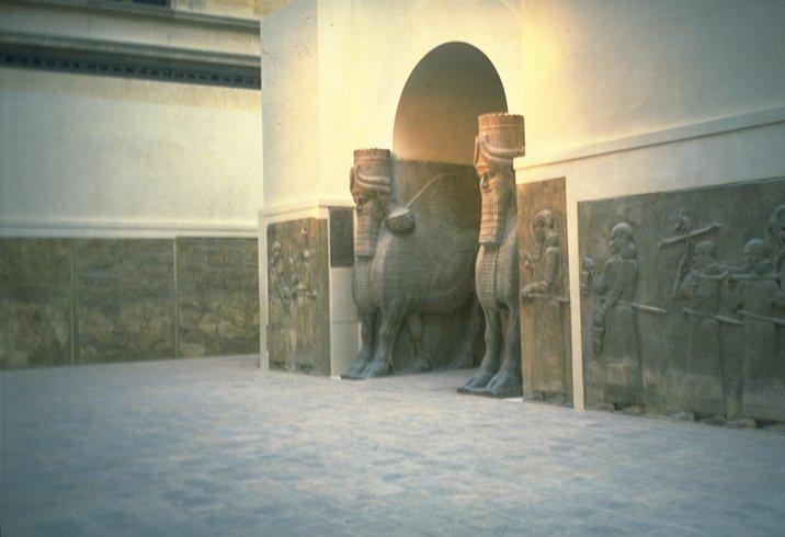 Khorsabad Assyrie (Louvre)