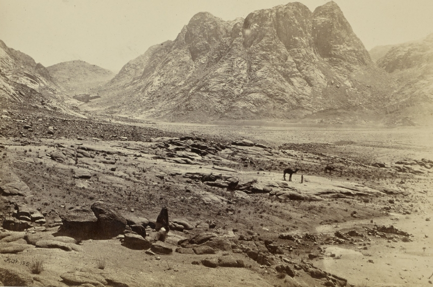 Mount Horeb in Sinai by Francis Frith (1858)