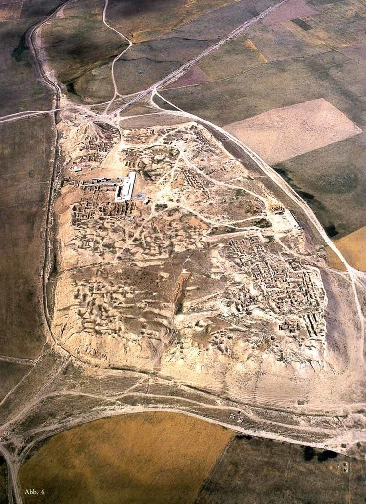 Aerial View of Nimrud