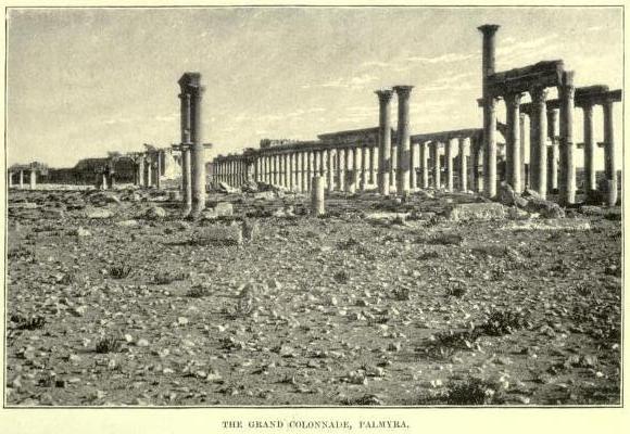 Ancient Palmyra (Tadmor) in Syria
