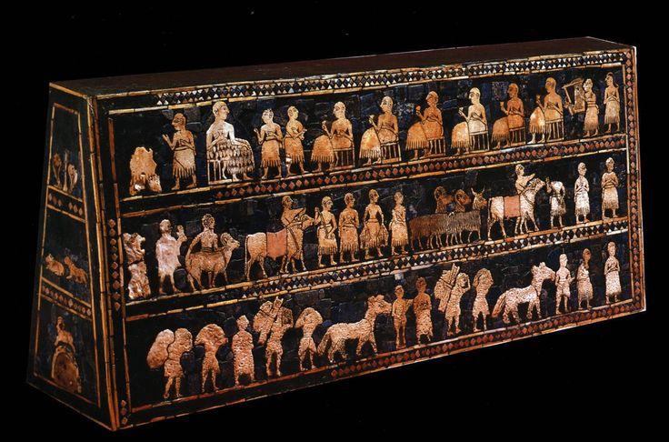 Standard of Ur 2500 BC (Trustees of the British Museum)