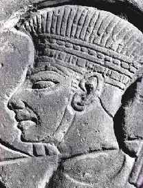 Philistine Head Dress from Medinet Habu