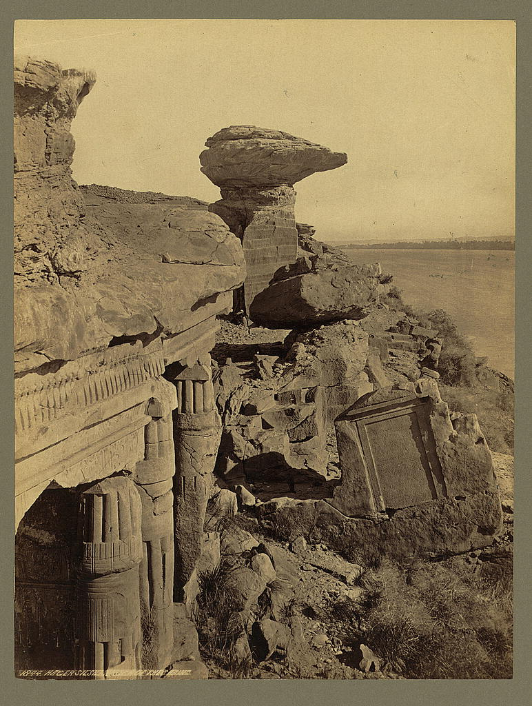 Hager Silsilis: Photographed by Francis Frith (1856-60)