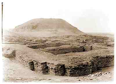The Ur Ziggurat from the SouthEast : Photograph by Leonard Wooley