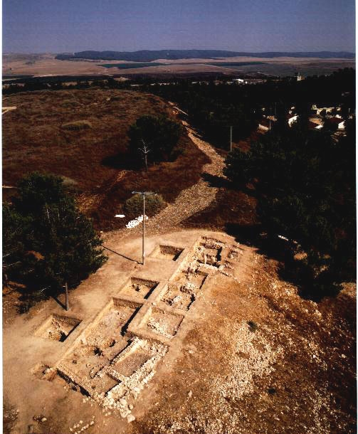 Western Edge of Halif with Field IV (Lahav Research Project)