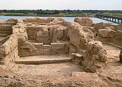 Ancient Terqa (Tell Ashara) on the Middle Euphrates in Jordan