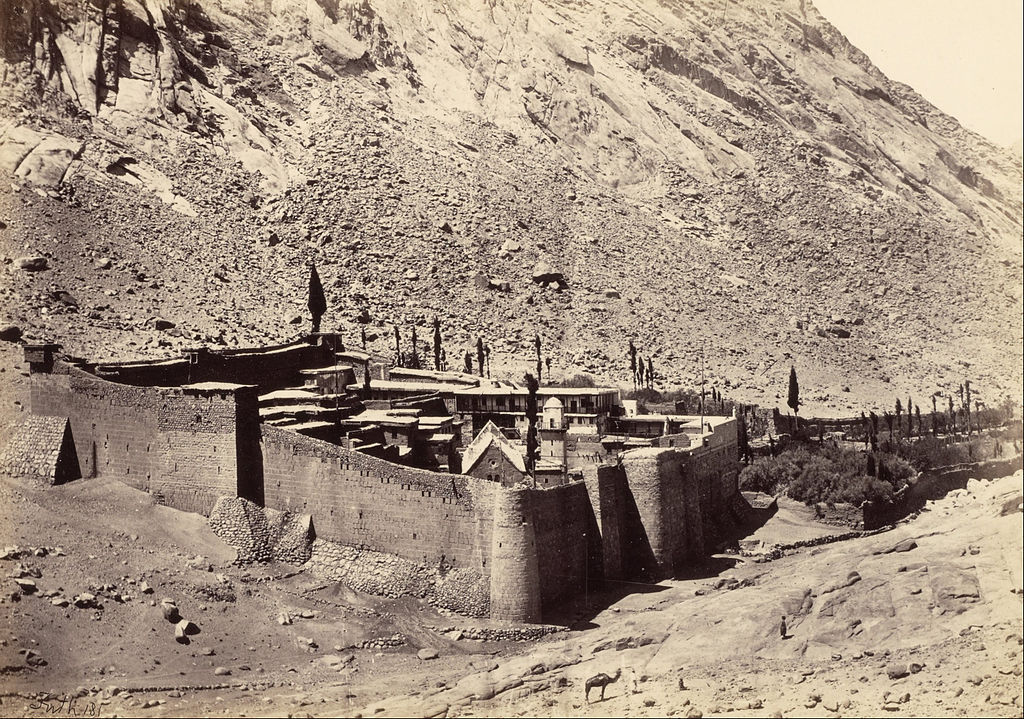 The Convent of Sinai by Francis Frith Circa 1858