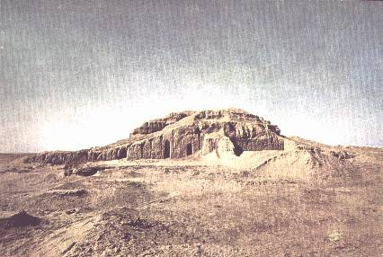 Ruins of the Ziggurat of the Eanna Temple of Uruk