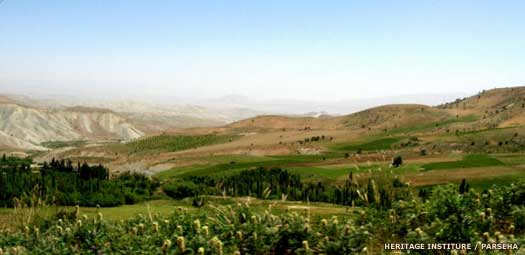 The Zagros Mountain range provided the Gutians with their home (The History Files)