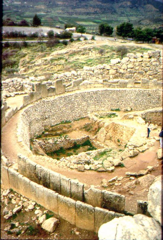 The Citadel at Mycenae
